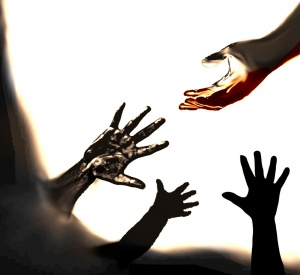 outstretched-hand
